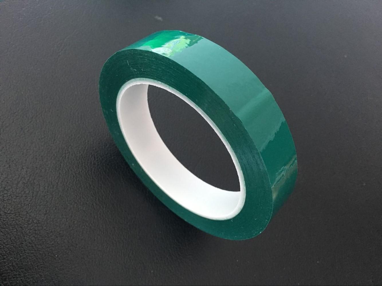 绿色高温胶带